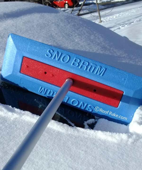 Snow Joe SnoBrum Auto Snow Pusher - Walmart.com